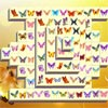 Game MAHJONG WITH BUTTERFLIES