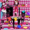 MONSTER HIGH: CLEANING THE LIVING ROOM
