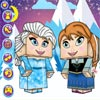 FROZEN HEART: MINECRAFT DRESS UP