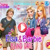 ELSA AND BARBIE: THE BLIND DATE
