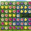 FLOWER PUZZLE: THREE IN A ROW
