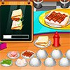 Game TO PREPARE A SANDWICH