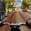 3D MOTORCYCLE RACING ON THE HIGHWAY